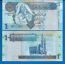 Libya P-68 Muammar Qadhafy Year 2004 ND Uncirculated Banknote Africa
