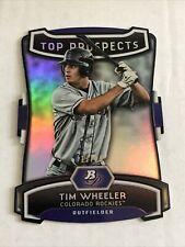 Tim Wheeler 2012 Bowman Platinum Top Prospects SSP 17/25 Die Cut