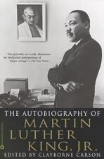 The Autobiography of Martin Luther King Jr by Clayborne Carson Biography Book