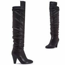stivali alti sopra ginocchio in vendita Scarpe col tacco