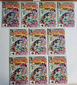 SECRET WARS #3 Lot of (10) Marvel Comics 1st Titania SHE-HULK MOVIE Avg NM 9.4