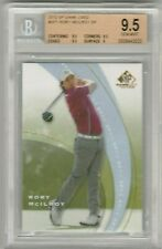 Rory McIlroy 2012 Upper Deck UD SP Game Used Rookie RC BGS 9.5 Gem Mint