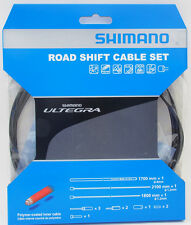Shimano Ultegra 6800 Road Polymer coated Shift Cable Housing Set, Black