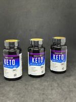 (LOT OF 3) Boundless Burn - Keto Advanced Weight Loss, 60x3=180 Caps Exp 11/21