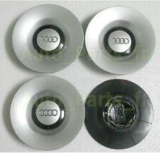 """4 Cache Jante moyeux Centre roue Audi A4 S4 17"""" 18""""  8E0 601 165 H 8E0601165H"""