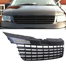 BLACK BADGELESS DEBADGED FRONT RADIATOR GRILL GRILLE FOR VW TRANSPORTER T5 04-09