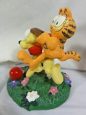 "Danbury Mint Garfield "" Easy Rider "" Very Detailed Figure"