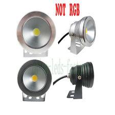 10W IP68 Waterproof RGB LED 12V Underwater Spot Light Pool Light Aquarium Lamp