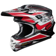 Shoei Vfx-W Motocross MX Enduro Casco Bicicleta Turmoil TC-1 Negro/Rojo