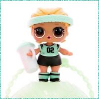 LOL Surprise KICKS Series 2 Doll Authentic Complete Sealed Accessories & Ball