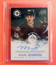 2013-14 Prime Mark Scheifele Prime Signatures Auto /99 Winnipeg Jets