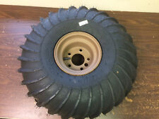 """ARGO ATV NEW STYLE 24""""x10x8 TIRE AND BROWN SCOUT RIM"""