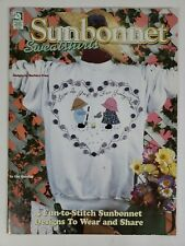 Sunbonnet Sweatshirts 5 Designs To Create Designs For All Seasons Pattern Book
