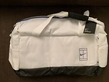 Nike Court Advantage Large Tennis Duffel Bag Ba5451-100 White Serena 65L