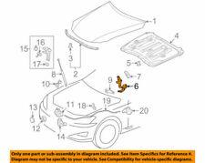 53410-53020 Toyota Hinge assy, hood, rh 5341053020, New Genuine OEM Part