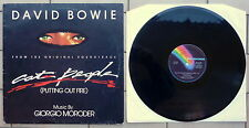 "DAVID BOWIE DISCO 12"" MAXI SINGLE 45 GIRI OST CAT PEOPLE (PUTTING OUT FIRE) ITA"