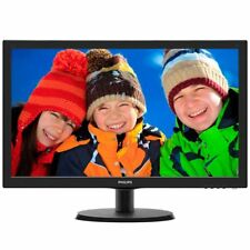 Philips 223V5LSB/00 21,5 Zoll Full HD LED-Monitor schwarz 5ms VGA, DVI-D