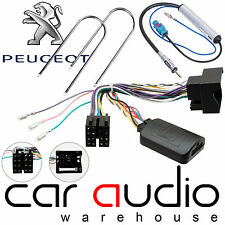Peugeot 407 2004-10 to KENWOOD Car Stereo Steering Wheel Interface & Aerial Kit