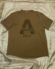 Hugo Boss maglietta t-shirt verde militare military green cotone cotton size M