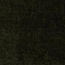 Plush Chenille Upholstery Fabric Taupe Black / Thunder