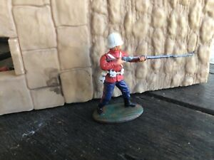 British 24th Foot Anglo Zulu War Expeditionary Force plastic toy Soldier 60mm