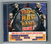 ♫ - 100 % RAP GAME VOLUME 2 - CD 18 TITRES - 2011 - NEUF NEW NEU - ♫