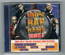 100 % RAP GAME VOLUME 2 - CD 18 TRACKS - 2011 - NEUF NEW NEU