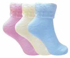 2 Pairs Women Ladies Sleeping Thermal Socks Warm Winter Cosy Bed Socks- Size 4-7