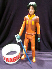 "Star Wars figures 12"" 30cm scale REBELS EZRA hasbro toy **freepost in uk**"