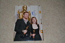 THE SWELL SEASON signed Autogramm  In Person 20x30 cm GLEN HANSARD , IRGLOVA