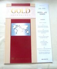 GOLD TECHNOLOGY JEWELRY HIGH CARAT GOLDS 21 CARAT CADMIUM FREE PURE GOLD SOLDERS
