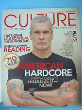 CULTURE Cannabis Magazine - Jul 2013 Henry Rollins, Morocco, Ganja Recipes, Hash