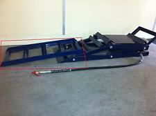 BLUE LEAD ON RAMPS (ATTACHMENT FOR OUR HYDRAULIC CAR RAMPS)  CJAUTOS CRO1B