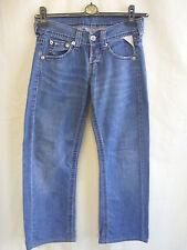 "Ladies Jeans - Replay, 28""W, 28.5L, original fit, straight, blue wash - 7087"