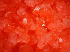 STRABERRY RED Rock Candy crystals on Strings 3 lbs