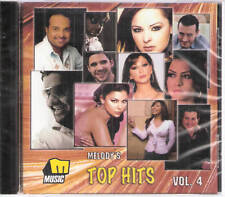 MELODY'S TOP HITS: Melissa,Tamer, Jannat, Carole,Yara,Nancy,Marwan Arabic MIX CD