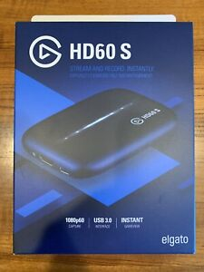 Elgato HD60 S Game Capture Card With Chat Link Cord