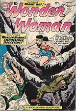 Wonder Woman Comic Book #118, DC Comics 1960 VERY GOOD+