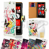 WALLET FLIP PU LEATHER CASE COVER For Nokia Lumia 920  FREE SCREEN PROTECTOR