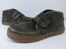 Olukia Kaha Chukka Ankle Boots Brown Leather Suede Men's Size 12 M