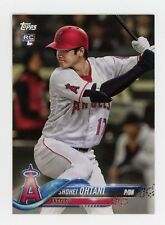 2018 Topps Shohei Ohtani FIRST PRINTED TOPPS ROOKIE CARD RC LOGO ANGELS STAR