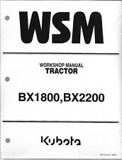 Kubota BX1800 Tractor Workshop Service Repair Manual 9y011-12463