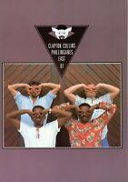 ERIC CLAPTON-PHIL COLLINS 1987 U.S. TOUR CONCERT PROGRAM BOOK-NEAR MINT TO MINT