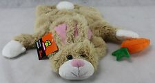 Top Paw Brown Bunny Rabbit with Carrot Dog Costume Coat Size Small NWT