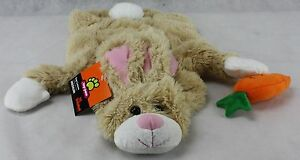 Top Paw Brown Bunny Rabbit with Carrot Dog Costume Coat Size XSmall NWT