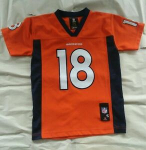 Peyton Manning Denver Broncos NFL Youth Jersey Size S 8 Great condition