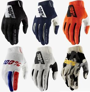 100 Percent 2021 Mens Ridefit Glove All Colors All Sizes