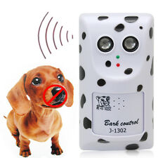 Dog Puppy Outdoor Ultrasonic Stop Bark Anti Barking Control Trainer Device
