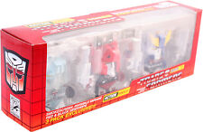The Loyal Subjects Transformers AUTOBOT 3-Pack Red SDCC 2014 Worldwide Free S/H