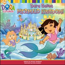 Dora Saves Mermaid Kingdom (Dora the Explorer), New, Nickelodeon Book